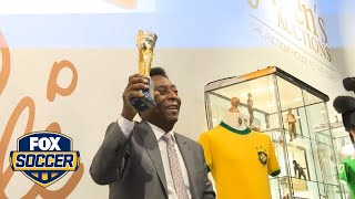 Pele excited by Euro 2016 by FOX Soccer