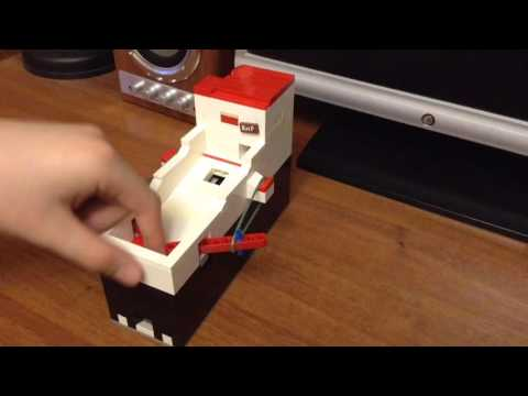 Мини пинбол из Lego V11 / Mini Lego pinball V11