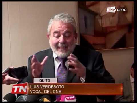 Verdesoto denuncia que el correísmo se mantiene en el CNE