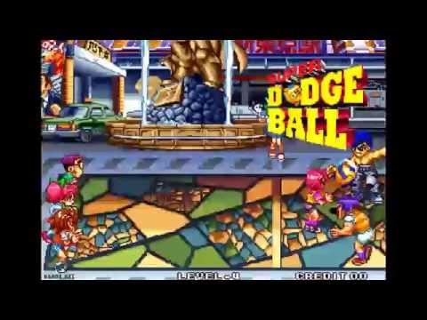 super dodge ball neo geo