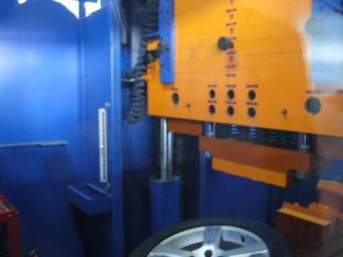 Испытание в лаборатории диска WSP Italy W1256 BALTIKA на удар обода (Volvo)