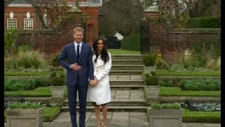 Video Prince Harry and Meghan Markle live at Kensington Palace MP3, 3GP, MP4, WEBM, AVI, FLV April 2018