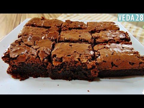 BROWNIE DE CHOCOLATE SUPER FÁCIL E DELICIOSO #VEDA28 | Menino Prendado
