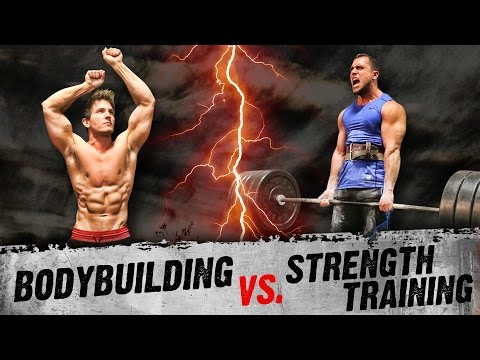 ARE YOU DOING THE RIGHT WORKOUTS? - Bodybuilding VS Strength Trai