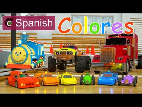 Video Learn Colors (SPANISH) - Colores y coches de carreras con Max, Bill y Pete el camión - TOYS download in MP3, 3GP, MP4, WEBM, AVI, FLV January 2017