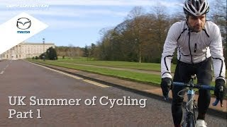 UK Summer of Cycling in association with Mazda - Part 1 The Giro d'Italia in Belfast