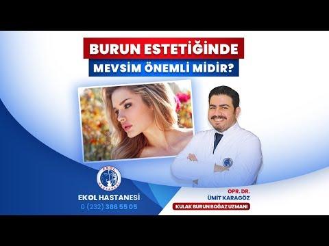 Burun Estetiğinde Mevsim Önemli Midir? - Opr. Dr. Ümit Karagöz - İzmir Ekol Hastanesi