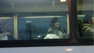 Whitecourt (AB) Canada  city photos : My Daughter Leaving on a Greyhound Bus for Whitecourt Alberta Canada
