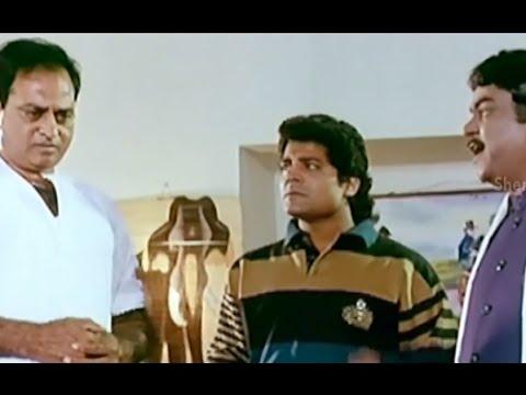 Bhale Bullodu Movie Scenes - Kota Srinivasa Rao scolds Chalapathi Rao - Jagapathi Babu, Soundarya