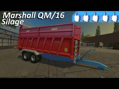 Marshall QM16 Silage Trailer v1.0
