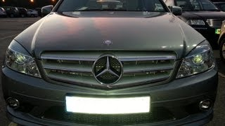 MERCEDES-BENZ C350 Sport C-Class 3.0 2010 Test Drive - THE UK CAR REVIEWS Funny