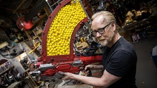 Video Adam Savage's One Day Builds: 1000 Shot NERF Blaster! MP3, 3GP, MP4, WEBM, AVI, FLV September 2018