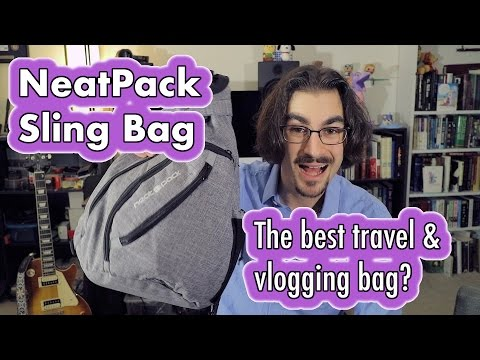 NeatPack Sling Bag - the best travel & vlogging bag? | REVIEW