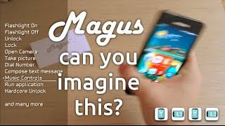Magus 3D Gesture Launcher YouTube video