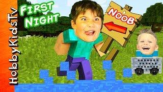 Nonton Minecraft HobbyNOOB First Night! HobbyKids Find Toys in Video Game + HobbyDad Werewolf HobbyKidsTV Film Subtitle Indonesia Streaming Movie Download