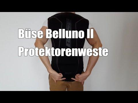 Büse Belluno II Protektorenweste - Welchen Rückenprotektor für das Motorrad und Motorradfahren ?
