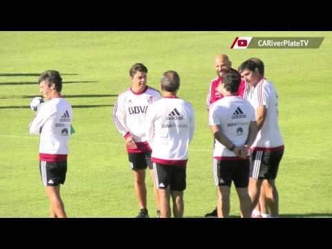 Entrenamiento en River Camp (07/04)