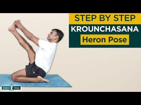Krounchasana (Heron Pose)