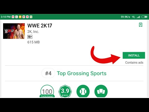 Download Real WWE 2K17 For Android From Playstore