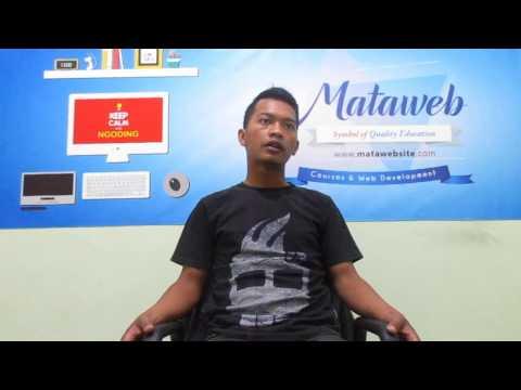 Testimoni Kursus Website  Dicky Nur Habibie