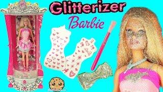 Video Glitterizer Machine Playset , Barbie Glitter Fashion Style Makeover - Cookieswirlc Unboxing Video MP3, 3GP, MP4, WEBM, AVI, FLV Oktober 2018