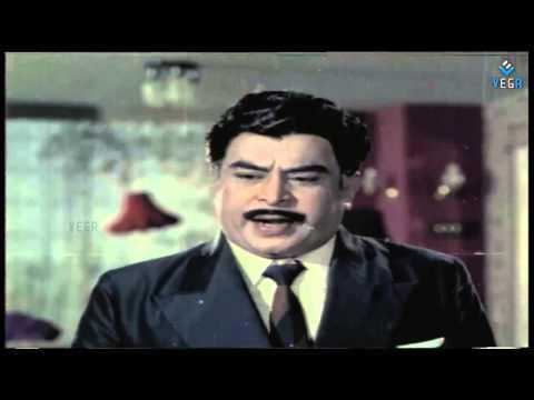 Anbai Thedi Movie - Shivaji Ganeshan,Major Sundhararajan,CHO.Ramaswamy Centiment scene