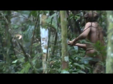 22 Jahre allein im Dschungel: Video zeigt indigenen M ...