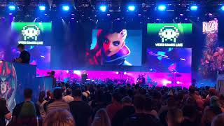 Overwatch - Sombra Gamescom 2018 Videogames Live Orchestra Blizzard Cinematic Cover