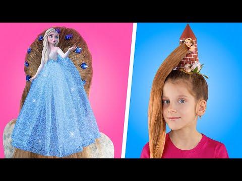 11 Uroczych Fryzur dla Dziewczynek