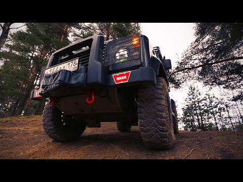 Обзор Land Rover Defender 90.