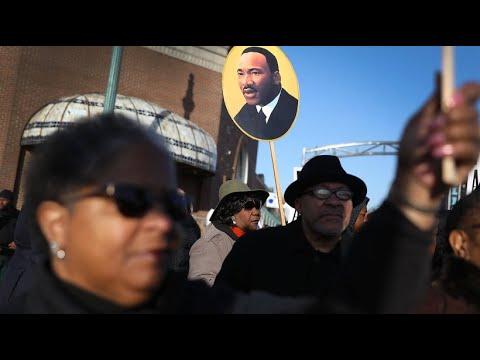 """Gedenken an Martin Luther King: """"Er kam her, um für ..."""