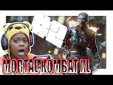 Mortal Kombat X | Character Fatalities | Harlem Shake |  PS4 Gameplay (видео)