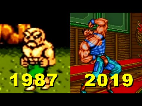 Double Dragon Evolution Game  1987-2019