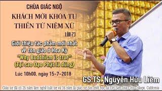 Tại sao đạo Phật là chân lý - GS.TS. Nguyễn Hữu Liêm