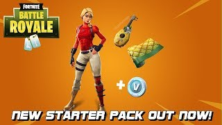 NEW STARTER PACK OUT NOW - LAGUNA PACK - FORTNITE BATTLE ROYALE - OVER 2660 WINS
