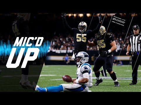 Video: Panthers vs. Saints Mic'd Up