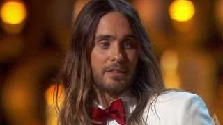 "Video Jared Leto - ""They don't give Oscars to people like me"" MP3, 3GP, MP4, WEBM, AVI, FLV September 2018"