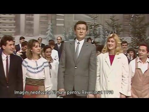 Imagini nedifuzate filmate pentru Revelionul din 1990 (video)