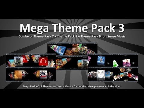 Video of Mega Theme Pack 3 iSense Music
