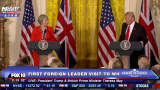 Like And Subscribe! ImJustJoshinYa! Tune in Next Time! President Donald Trump Was Together With British Prime Minister Theresa May To Talk About A Range Of Subjects on Jan. 27th 2017