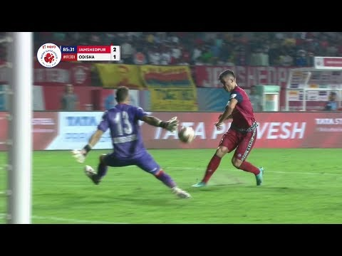 Jamshedpur - Odisha 2:1. Видеообзор матча 22.10.2019. Видео голов и опасных моментов игры