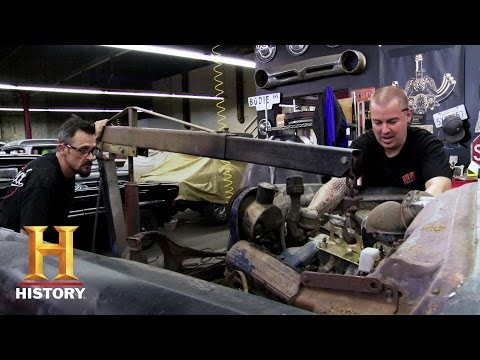American Restoration: Mitchell's Close Call (Season 7, Episode 3) | History