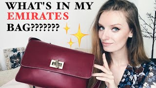 Hello!!! ✨👋 I'm Maria, and welcome to my channel!!! Let's see what secrets I keep in my Emirates red bag! Ready?? As usual, I film with my iPhone 7 Plus )) But a new camera Canon G7 Mark II is almost in my hands !! I edit videos on iMovie app ) Love all of you for encouragements and sweet comments!!! We can communicate more here:- Instagram: https://www.instagram.com/skyflygirl/- Facebook page : https://www.facebook.com/strawberryemirates/And I guess you know my love and passion for new Jewelry Project I'm about to start )) It is right here: https://www.instagram.com/zoldi.jewels/ And to see my collection first, simply put your email here: http://zoldijewels.comNow enjoy my Channel and feel free to like and comment!!!! )))See you soon ! 👏
