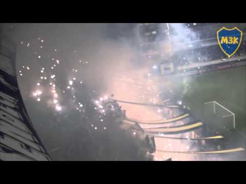 Video - Boca riBer Lib15 / Recibimiento - La 12 - Boca Juniors - Argentina
