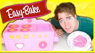 Video TRYING AN EASY BAKE OVEN! MP3, 3GP, MP4, WEBM, AVI, FLV Juli 2018