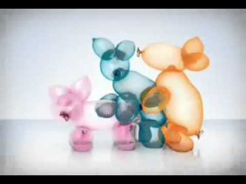 Durex Condom Commercial Balloon Animals