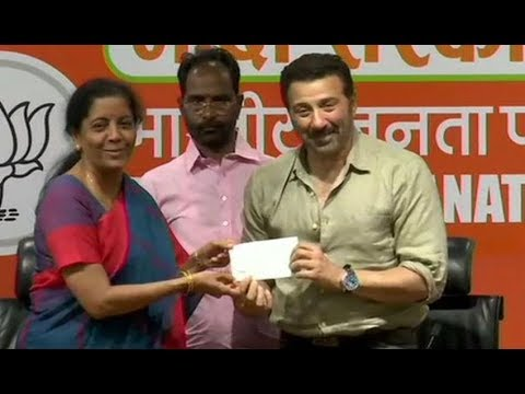 Breaking News: Actor Sunny Deol Turns Politician, Joins BJP