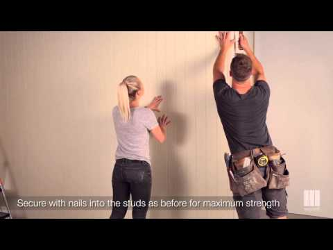 Installing easyVJ on a Stud Wall