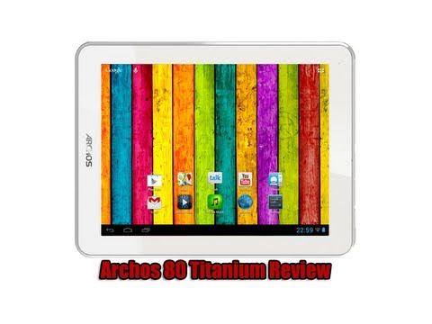 Archos 80 Titanium Review