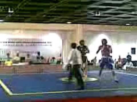 sanshou(egypt vs india)at world junior championships (видео)